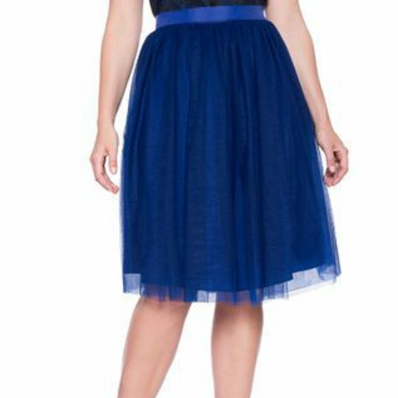 Eloquii Dresses & Skirts - Navy blue tulle skirt NWOT
